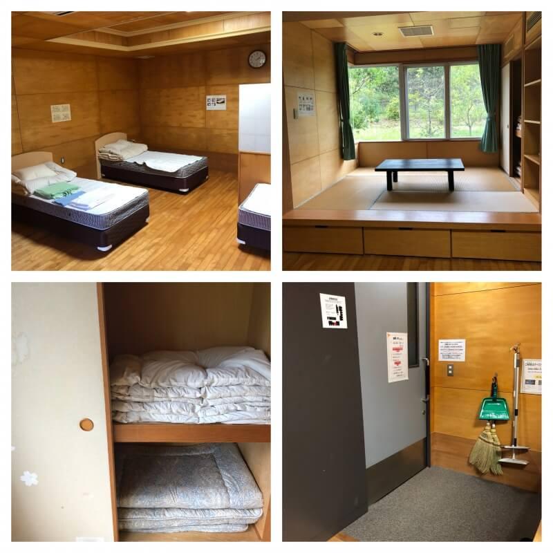 千葉市少年自然の家の宿泊施設