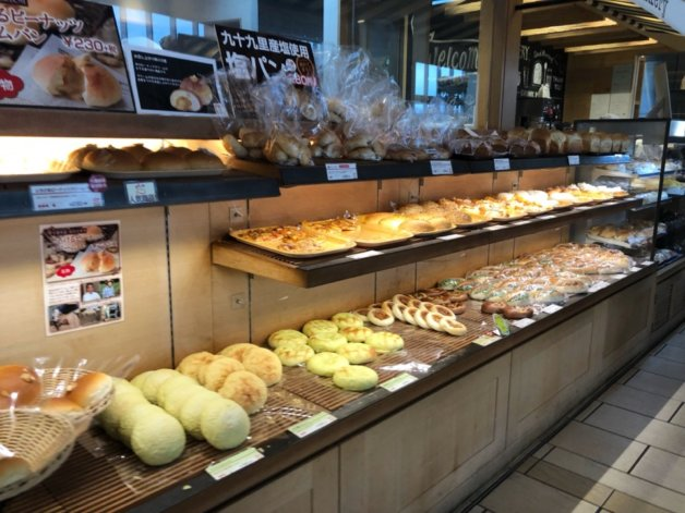 パサール幕張のNatural Bread Bakery