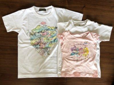 チャリTシャツとユニクロTシャツの比較