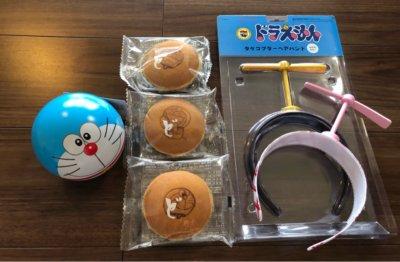 テレビ朝日夏祭り2019年のテレアサショップで購入したドラえもんの商品